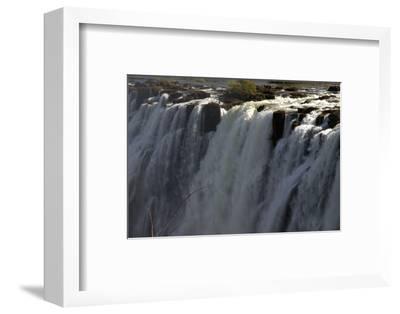 Edge-On View of Victoria Falls, Zambia