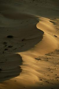 Sand Dunes Near Serra Cafema Camp on Banks of the Kufeme River in Namibia by Anne Keiser