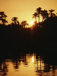 Sunrise over the Nile River by Anne Keiser