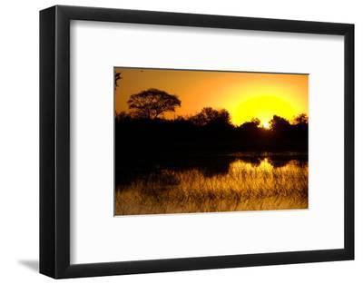 Sunset, Kwetsani Camp, Botswana