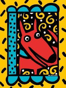 Urban Dogs V by Anne Leuck Feldhaus