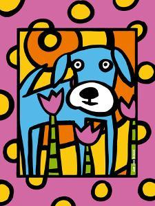 Urban Dogs VI by Anne Leuck Feldhaus