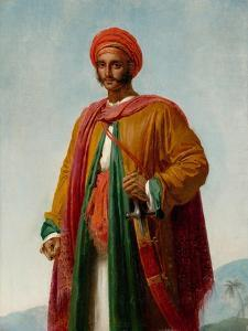 Study for 'Portrait of an Indian', c.1807 by Anne Louis Girodet de Roucy-Trioson