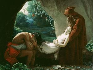 Burial of Atala, c.1808 by Anne-Louis Girodet de Roussy-Trioson