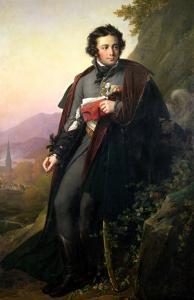 Charles-Artus de Bonchamps 1824 by Anne-Louis Girodet de Roussy-Trioson