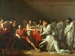 Hippocrates Refusing the Gifts of Artaxerxes I 1792 by Anne-Louis Girodet de Roussy-Trioson