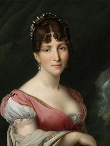 Hortense De Beauharnais, Queen of Holland, 1805-09 by Anne-Louis Girodet de Roussy-Trioson