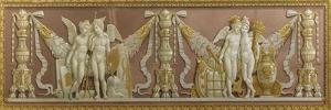 La Naviguation et le commerce, l'Architecture et la Peinture by Anne-Louis Girodet de Roussy-Trioson