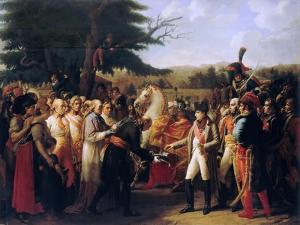 Napoleon Bonaparte Receiving the Keys of Vienna at the Schönbrunn Palace, 13th November 1805 by Anne-Louis Girodet de Roussy-Trioson