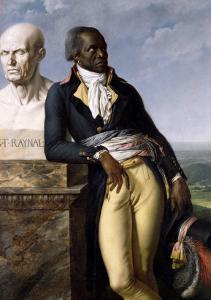 Portrait of Jean-Baptiste Belley (D.1804) Deputy of San Domingo, 1797 by Anne-Louis Girodet de Roussy-Trioson