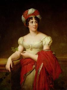 Portrait of Madame De Stael (1766-1817) by Anne-Louis Girodet de Roussy-Trioson
