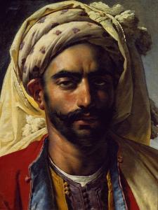 Portrait of Mustapha by Anne-Louis Girodet de Roussy-Trioson