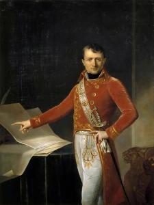 Portrait of Napoleon Bonaparte as First Consul by Anne-Louis Girodet de Roussy-Trioson