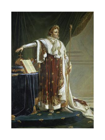Portrait of Napoleon I in His Coronation Robes