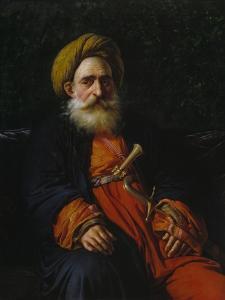 Portrait of the Katchef Dahouth, Christian Mameluke, 1804 by Anne-Louis Girodet de Roussy-Trioson