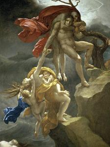 Scene de Deluge by Anne-Louis Girodet de Roussy-Trioson