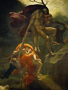 Scene from the Flood, 1806 by Anne-Louis Girodet de Roussy-Trioson