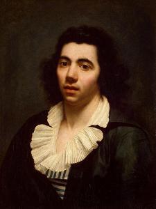 Self-Portrait, Early 19th C by Anne-Louis Girodet de Roussy-Trioson