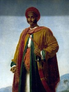 Study of a Portrait of an Indian by Anne-Louis Girodet de Roussy-Trioson