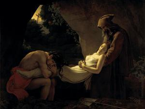 The Death of Atala by Anne-Louis Girodet de Roussy-Trioson