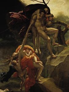 The Flood, 1806 by Anne-Louis Girodet de Roussy-Trioson