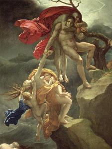The Flood, circa 1806 by Anne-Louis Girodet de Roussy-Trioson