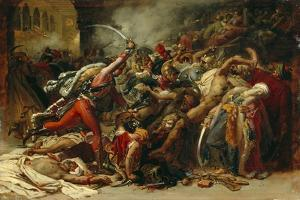 The Revolt of Cairo, C.1810 by Anne-Louis Girodet de Roussy-Trioson