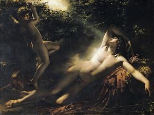 The Sleep of Endymion, 1791 by Anne-Louis Girodet de Roussy-Trioson