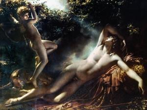 The Sleep Of Endymion by Anne-Louis Girodet de Roussy-Trioson