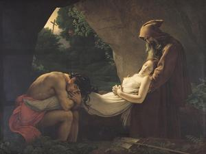 The Tomb of Atala, 1808 by Anne-Louis Girodet de Roussy-Trioson
