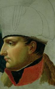 Unfinished Portrait of Napoleon I (1769-1821) 1808 by Anne-Louis Girodet de Roussy-Trioson