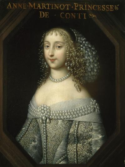 Anne-Marie Martinozzi, Princess of Conti (1637-1672)--Giclee Print