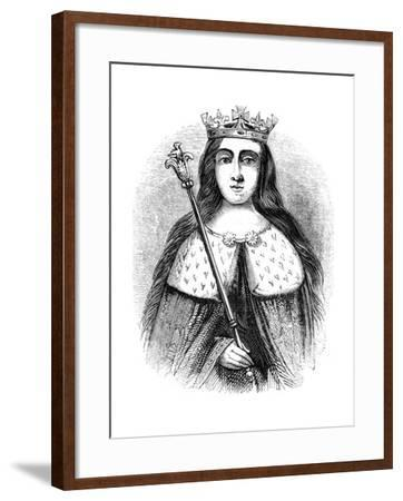 Anne Neville, Queen Consort of King Richard III of England 1483-1485--Framed Giclee Print