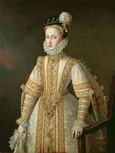 Anne of Austria (1549-80) Queen of Spain, c.1571-Alonso Sanchez Coello-Giclee Print