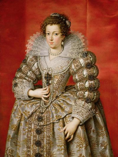 Anne of Austria (1601-66)-Frans II Pourbus-Giclee Print