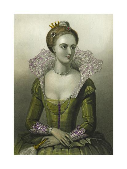 Anne of Denmark, Queen Consort of James I of Great Britain, 1856--Giclee Print