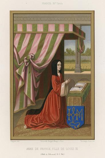 Anne of France--Giclee Print