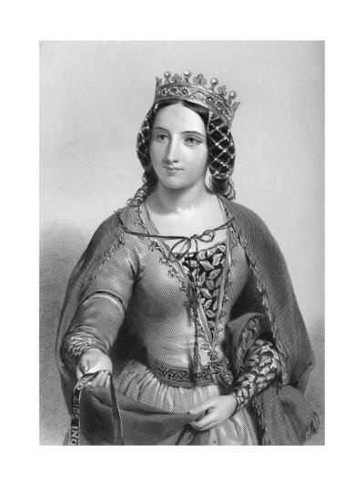 Anne of Warwick (1456-148), Queen Consort of King Richard Iii, 1851--Giclee Print