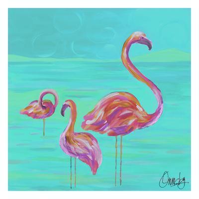 Duo Flamingos