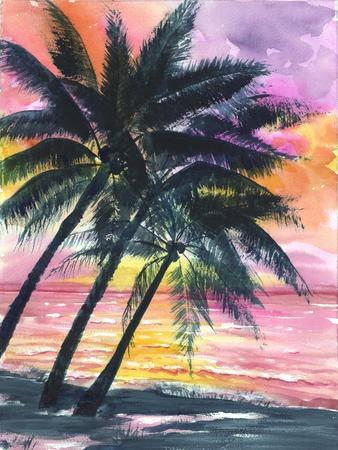 Secret Island Sunrise