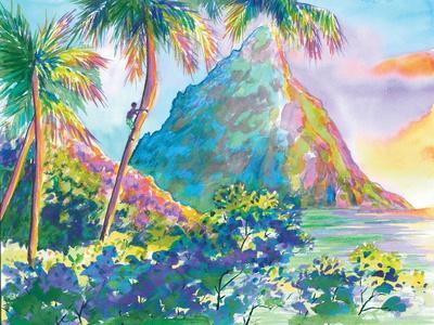 St. Lucia Rainbow Palette