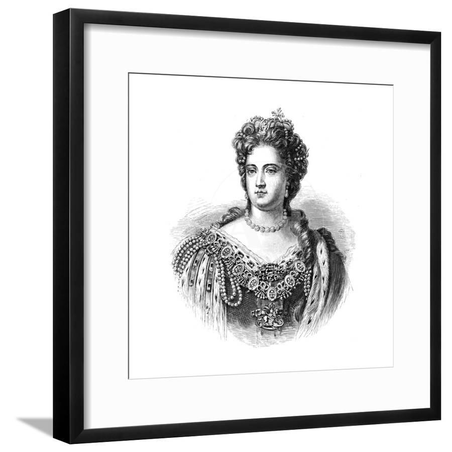 Anne queen of great britain and ireland from 1702 1880 giclee print by art com