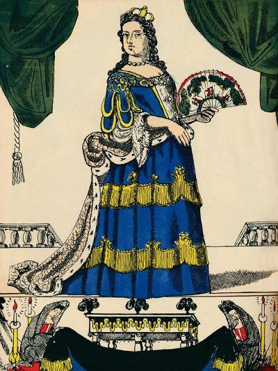 Anne, Queen of Great Britain and Ireland from 1702, (1932)-Rosalind Thornycroft-Giclee Print