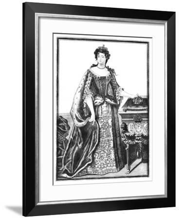 Anne, Queen of Great Britain and Ireland--Framed Giclee Print