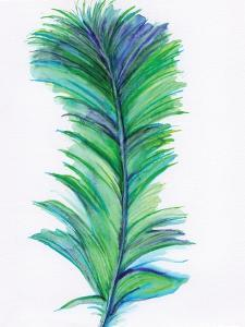 Blue Feather II by Anne Seay