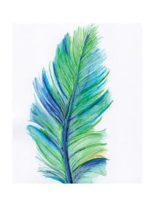Blue Feather by Anne Seay