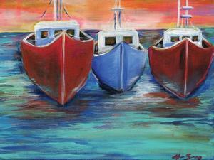 Boats by Anne Seay