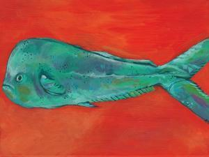 Fish and Orange by Anne Seay