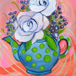 Flower in Pot by Anne Seay