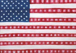 Geometric American by Anne Seay